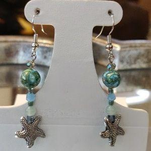 Jewelry - Sea Sediment Starfish Earrings